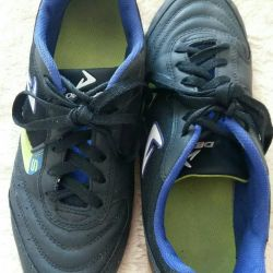Football boots for the hall