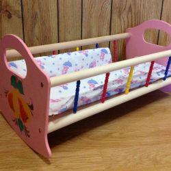 Bebekler için sallanan yatak