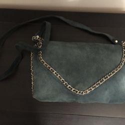 A bag of zara. Suede