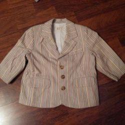 18 aylık bir erkek çocuk için ceket.