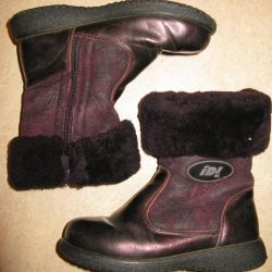 Winter boots for girls, r. 29th