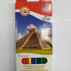 Νέα χρωματιστά μολύβια KOH-I-noor (12 col.)