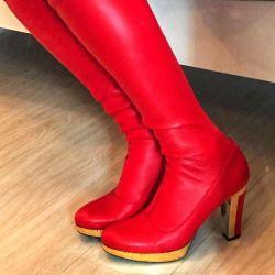Boots Italian stretch 39