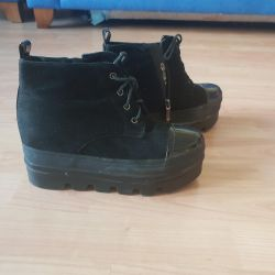 Boots, ankle boots, wedge boots Pull and Bear