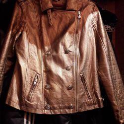 Jacheta culoare auriu