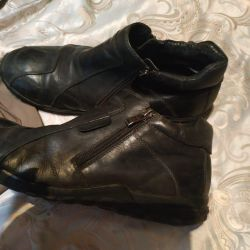 Leather boots Kapika, 42 size, excellent condition