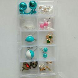 Pusset, σκουλαρίκια