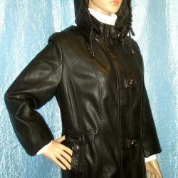 râu 50. Jacket. piele faux.