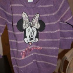 Детская кофта-туника вязанная Disney 86 р