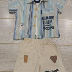 Three-piece suit for a boy