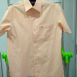 νέο ανδρικό πουκάμισο μεγέθους 48
