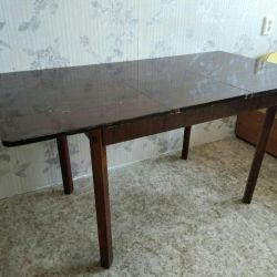 Folding table, 2-3 parts 110/150 * 80, 75 height