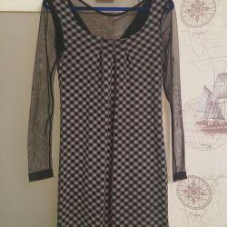 Rochie de îmbrăcăminte din Turcia cu plasă