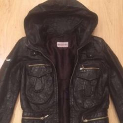 Jacket for women. LEATHER. Sale.