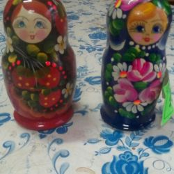 Nested dolls and other toys