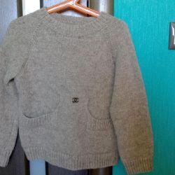 Sweater 100% Wool 122