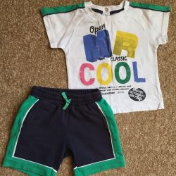 Shorts + T-shirt - set