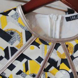 Dress with geometric print incity