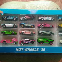 Gift Set of 20 Hot Wheels