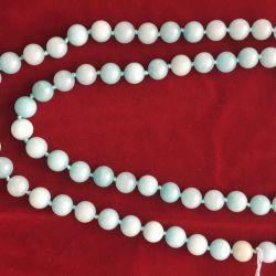 Blue Aquamarine Beads