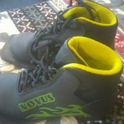 Лыжные ботинки Novus детские.самовывоз