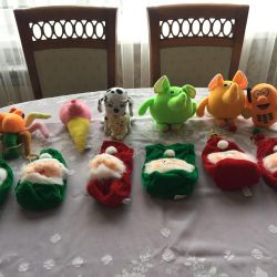 Soft toys 11 pieces