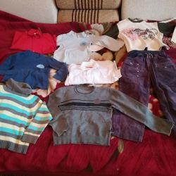 Одежда для мальчика 7-9лет