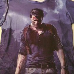 Uncharted 4 T-shirt νέα