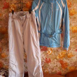 Kadın kayak kıyafeti