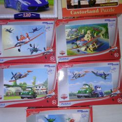 Puzzles Aircraft Cars Dusty