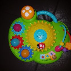 Musical toy baby go