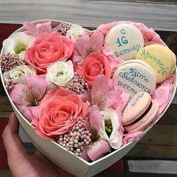 bir kutu içinde güller