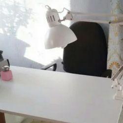 Manikür için masa lambası