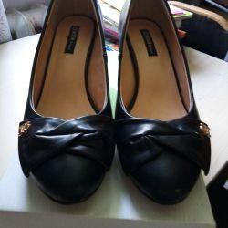 Women's shoes black firm ZENDEnew