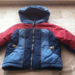 Çocuğa ısınmış ceket satıyorum