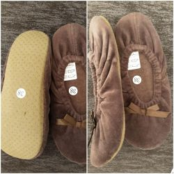 New slippers house (ballet shoes)