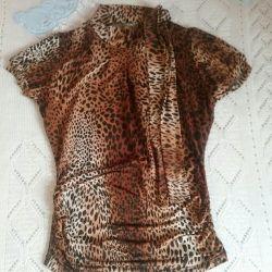 Μπλούζα, χρυσαφένιο, σακάκι, μέγεθος S