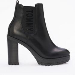 Νέο Tommy Jeans 36-40 Heel μπότες Chelsea Αστράγαλο