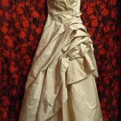 Mezuniyet veya düğün için elbise