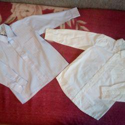 Сорочки на хлопчика для садка або школи