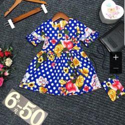 Rochie de vară cu ambreiaj pentru fată