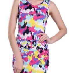 Bright cool dress