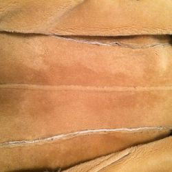 Koyun derisi ceket gerçek kürk