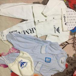 Дитячі речі 0-3 місяці
