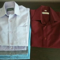 Рубашки школьные