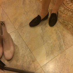 Pantofi de piele moale Le Folle
