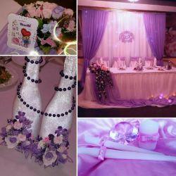 Wedding decoration, accessories, etc.