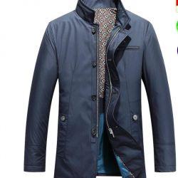 Jacket man's demi-season Mark Adam collection