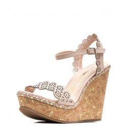 Mantar kadın sandalet