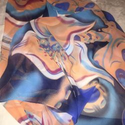 платок из шифона